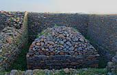 Развалины чего-то, возможно — дворца царицы Савской