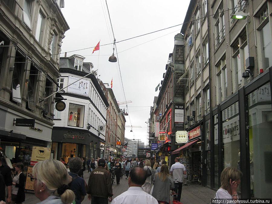 Стрьогет(в переводе с датского полоса) Полоса магазинов