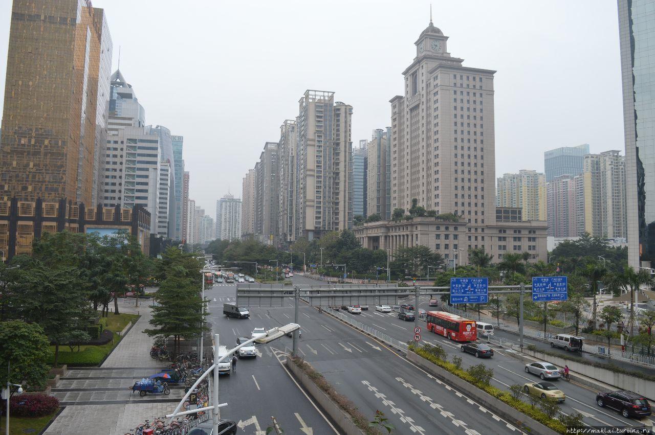 По пути к Зелёному континенту. Гуанчжоу