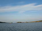 Прогулка на лодке по озеру.