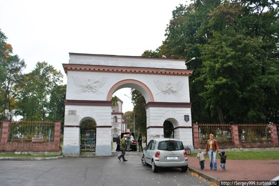 Ворота Кальварийского кладбища. 1830г.