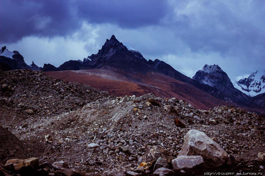 Гокио — ледник Нгозумба  – Дрогнак Драгнаг, Непал
