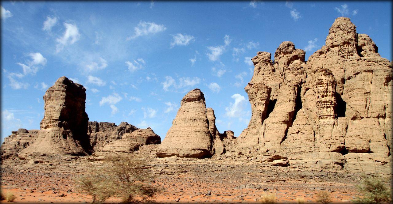 Алжирская Сахара, день третий — инопланетяне и ночь в песках Тассилин-Адджер Национальный Парк, Алжир