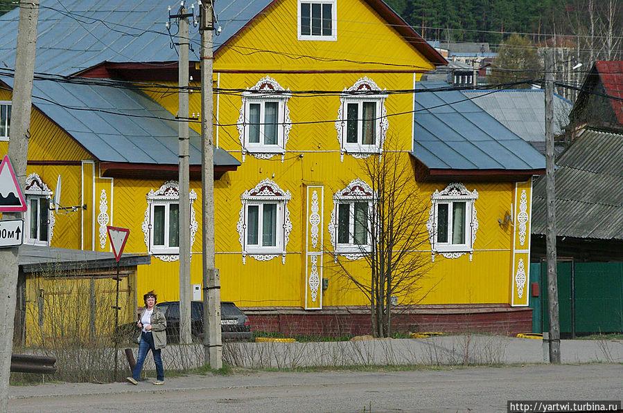 Виды с моста Солигалич, Россия