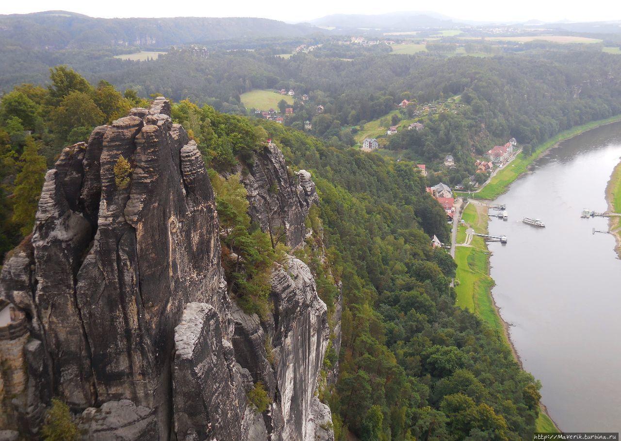 Бастай — скалистый бастион в Саксонии