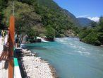 река Бзыбь, по пути к озеру Рица