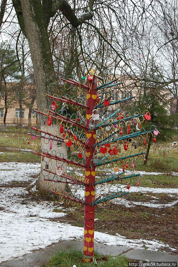Дерево любви Аткарск, Россия