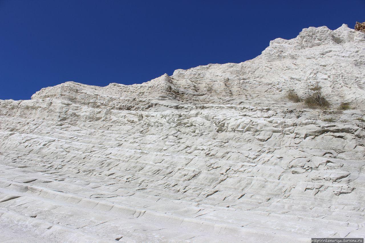 Турецкая лестница   Скала-дей-Турки Пунта-Гранде, Италия