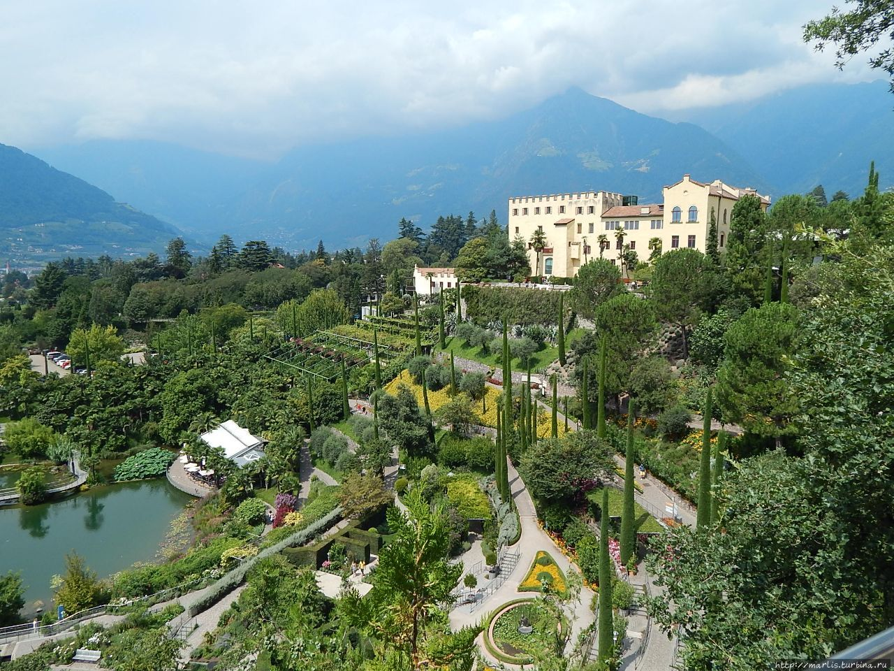 Солнечные сады Мерано
