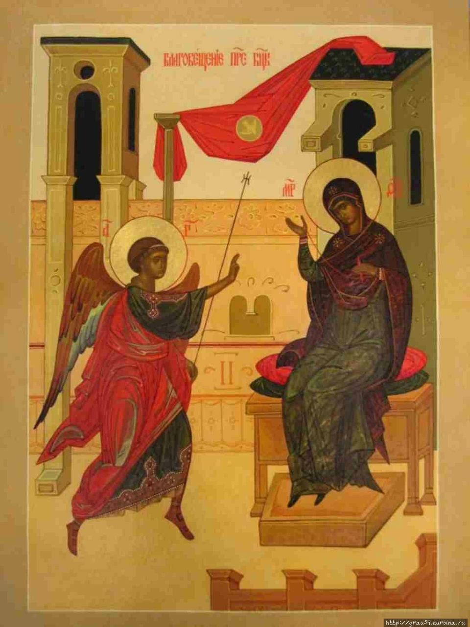 Икона Благовещенья Господня