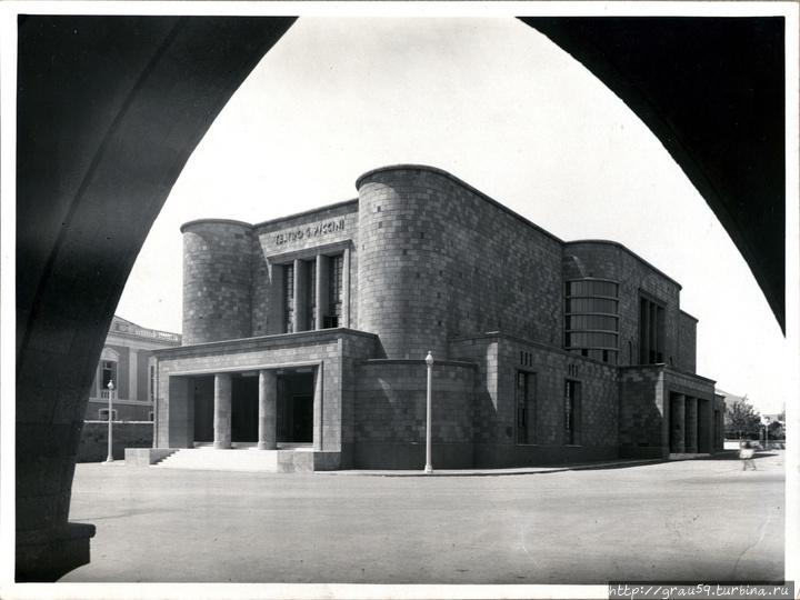 Театр Пуччини в молодости