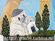 Храм Святого Андронника,  репродукция с картины
