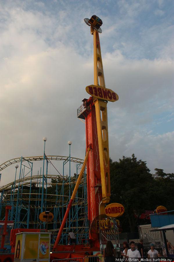 Bomber — высота 40 метров. Очень страшно