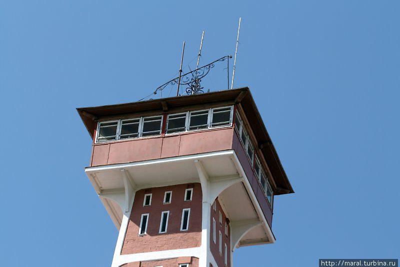 С 48-метровой высоты каланчи открывается чудесный вид на Рыбинск