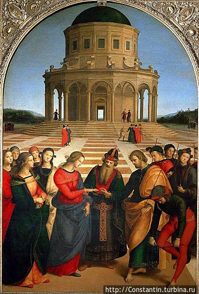Рафаэль — Обручение Марии