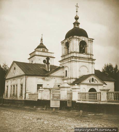 Ржевская церковь (из Инте
