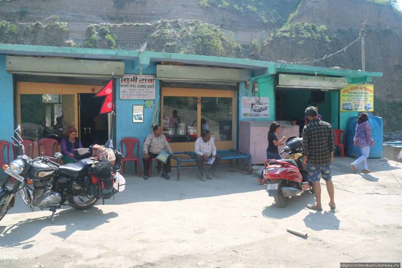 Местный мишленовский рестик. Манали, Индия