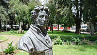 Памятник великому эфиопскому поэту