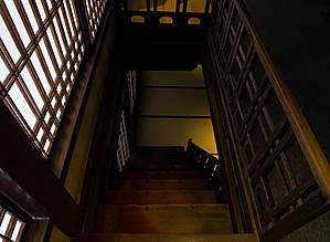 Шкаф-лестница, вид сверху.