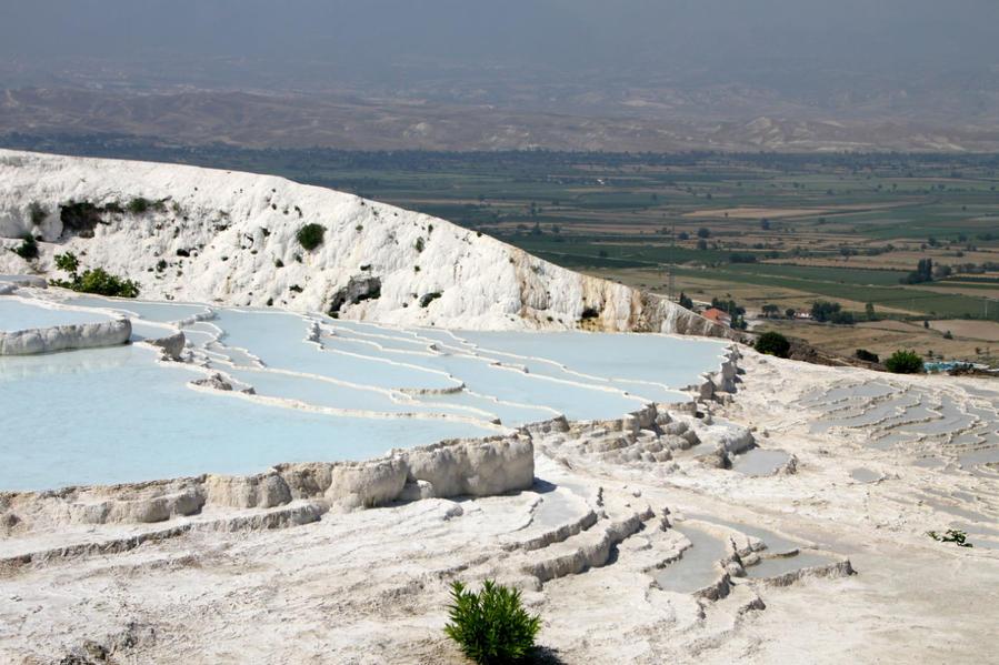 Второе открытие Памуккале Памуккале (Иерополь античный город), Турция