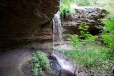 На самом деле, водопад выглядел немного не таким, каким я себе его представлял. Видимо лето было засушливым и грунтовые воды немного обмелели.