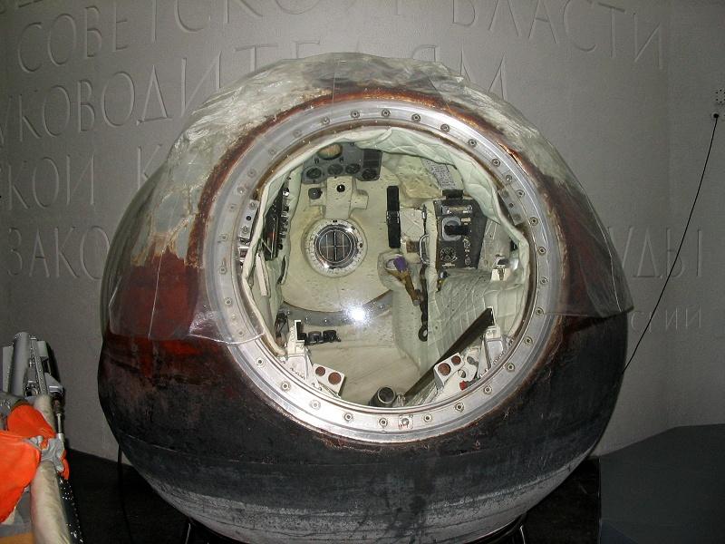 Спускаемый аппарат Восток-5 (настоящий)