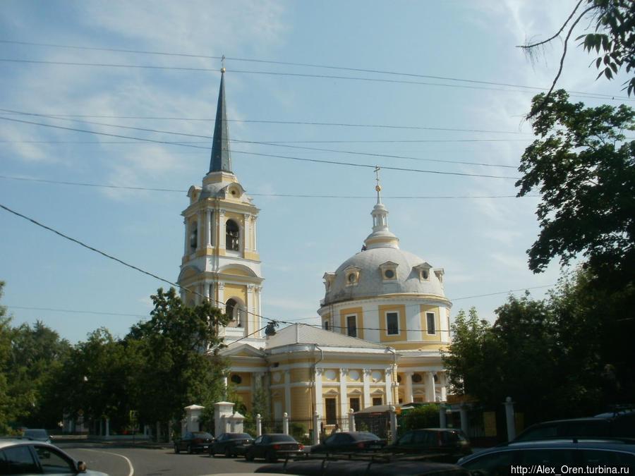 Церковь Вознесения на Гороховом поле.