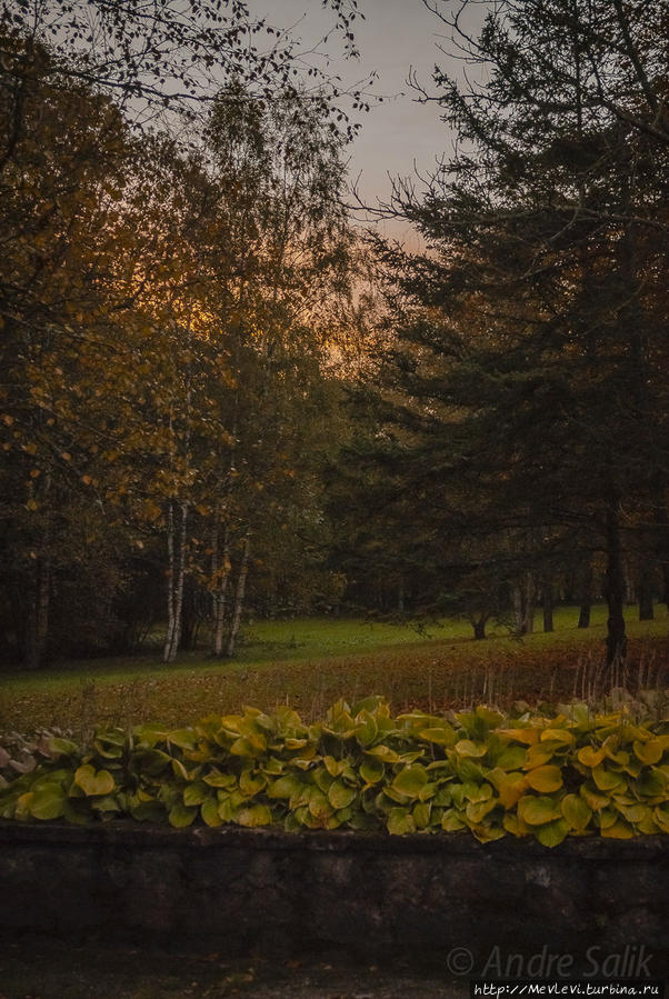 В Сигулде Сигулда, Латвия