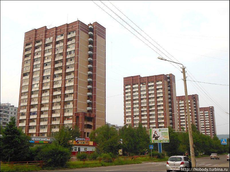 16-этажки, которыми так гордятся тындинцы))