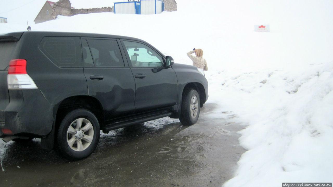 Машине тоже не нравится снег и слякоть. Алания, Турция