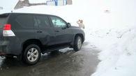 Машине тоже не нравится снег и слякоть.