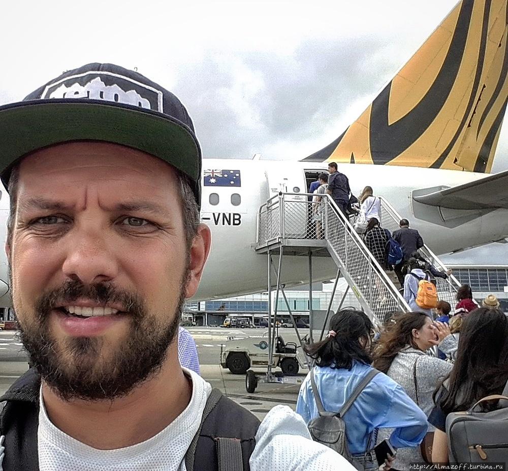 Андрей Алмазов в Астралии