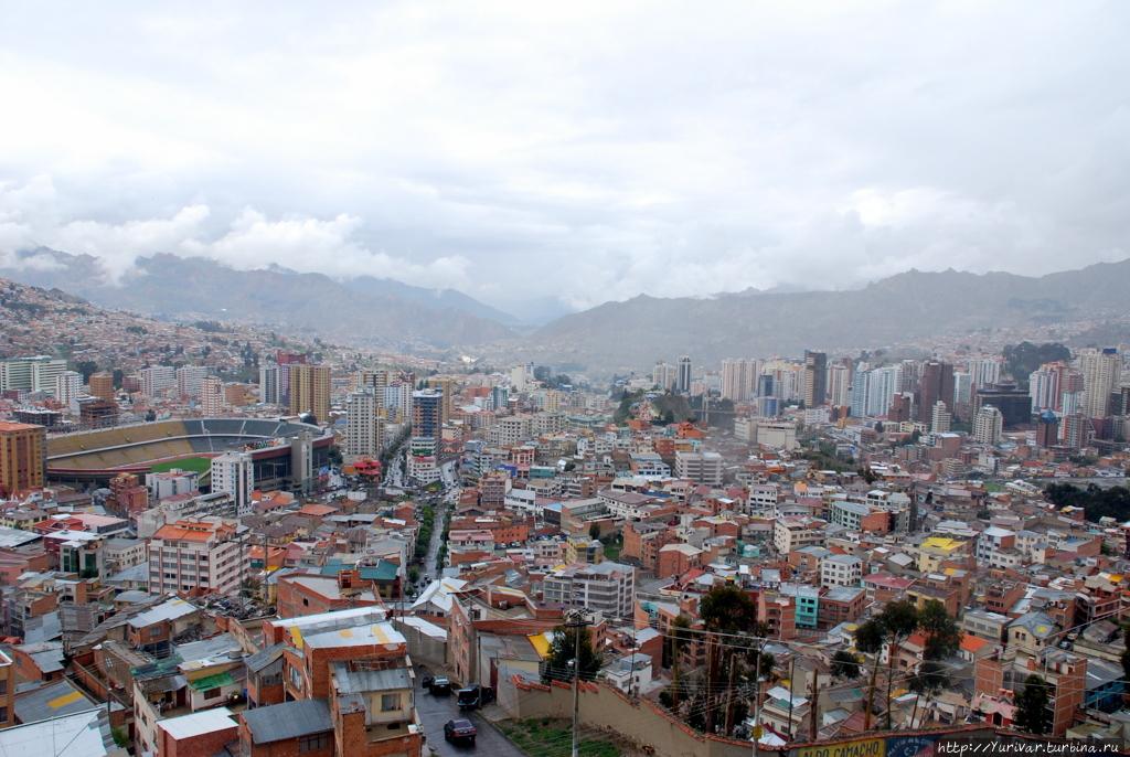 Панорама Ла Пас — столицы