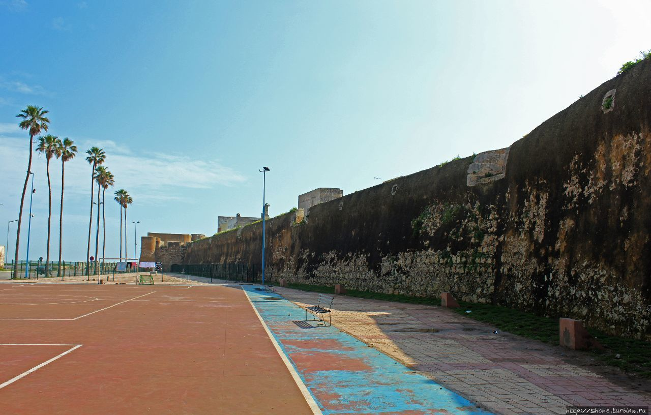 Португальская крепость Мазарган Эль-Джадида, Марокко