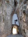 Вход в тоннель со стороны крепости Сан Хосе