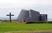 Сельская католическая церковь в городке Blonduos