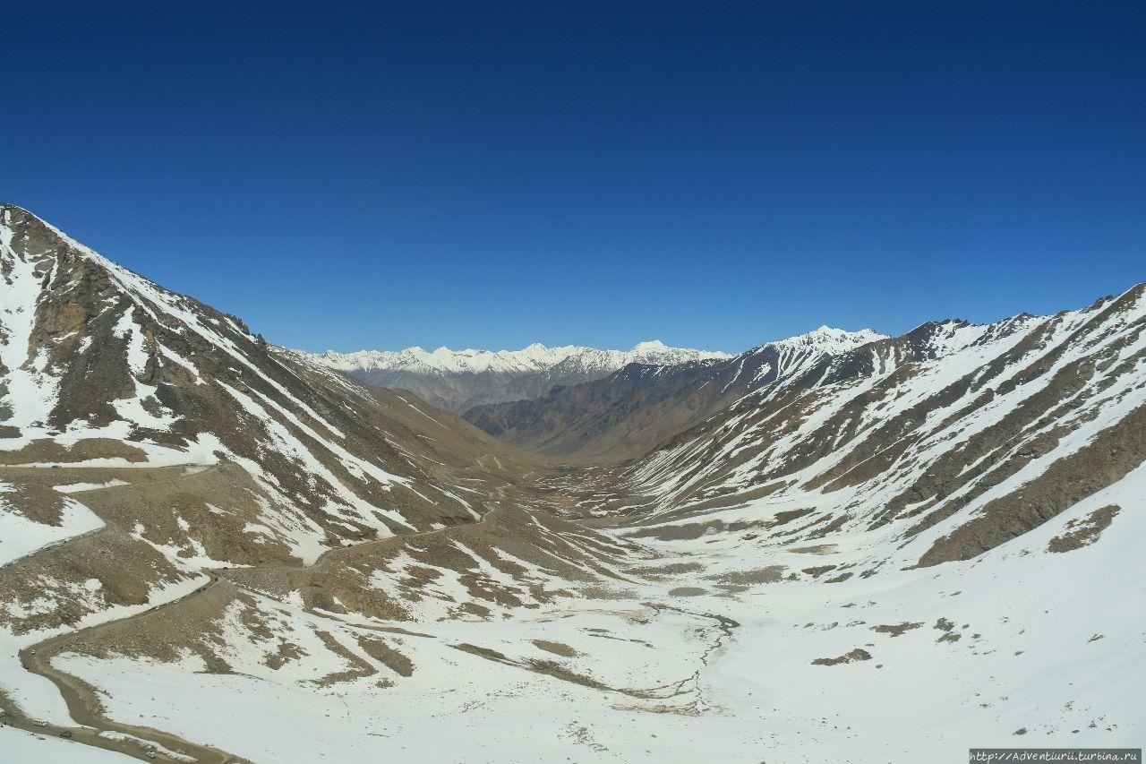 Вид с последнего перевала