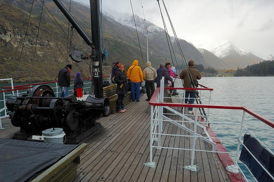 На палубе парохода