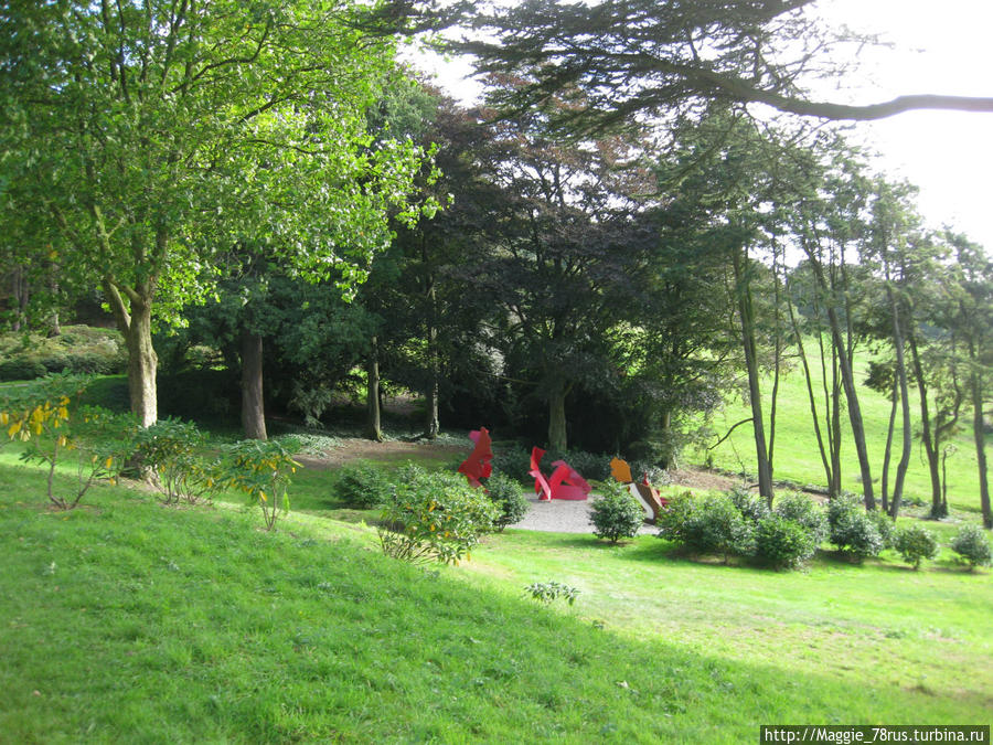 Сад Чатсворта Бакстон, Великобритания