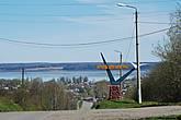 В 11.10 перед нами открылась восхитительная панорама Галичского озера, уже только ради этого зрелища стоило совершить поездку.