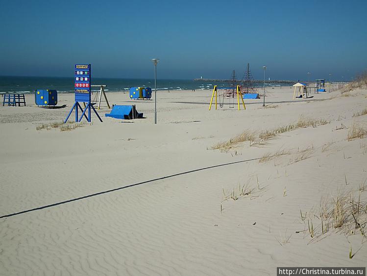 Красивые песчаные простор