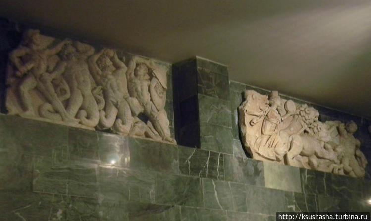 Детали украшения амфитеат