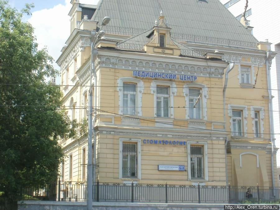 Третий Сыромятнический пер. (около Курского вокзала).