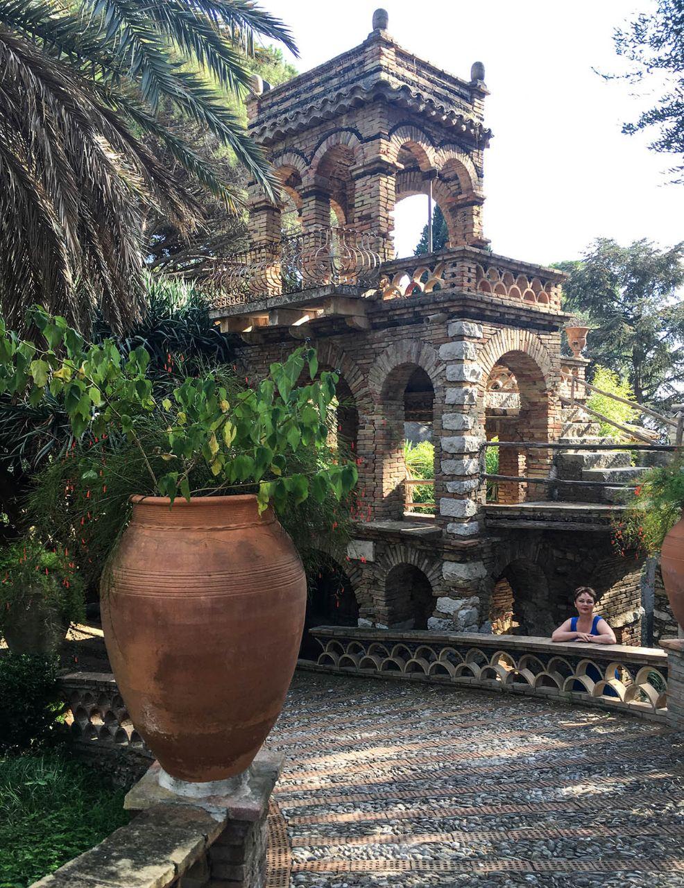 Экзотический сад Таормины