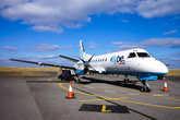 Поскольку Донегол от Дублина далековат, то между ними летает вот такой самолёт.
