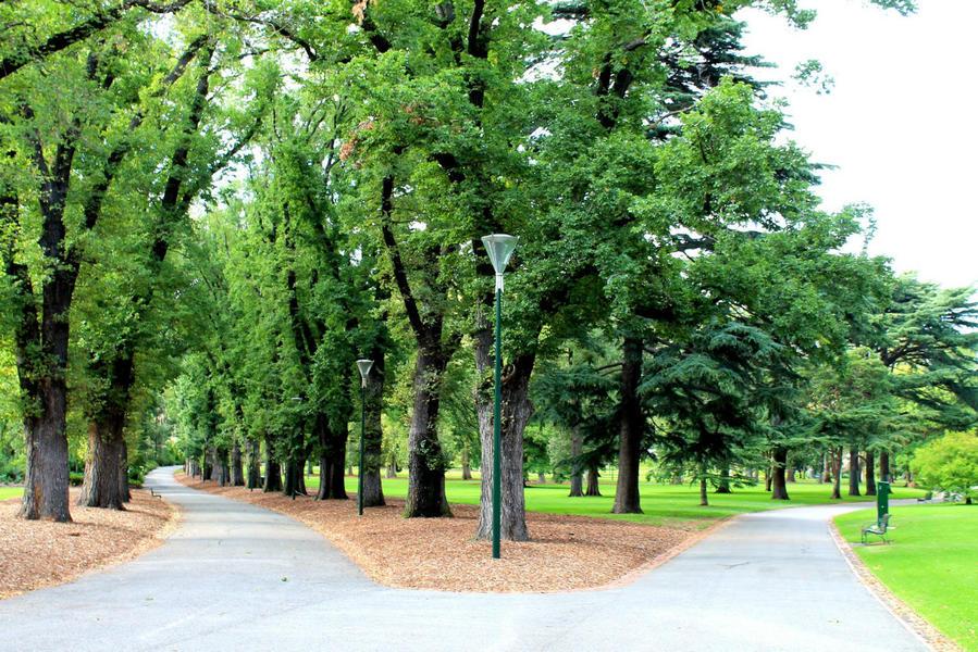 Парк Фитцрой Мельбурн, Австралия