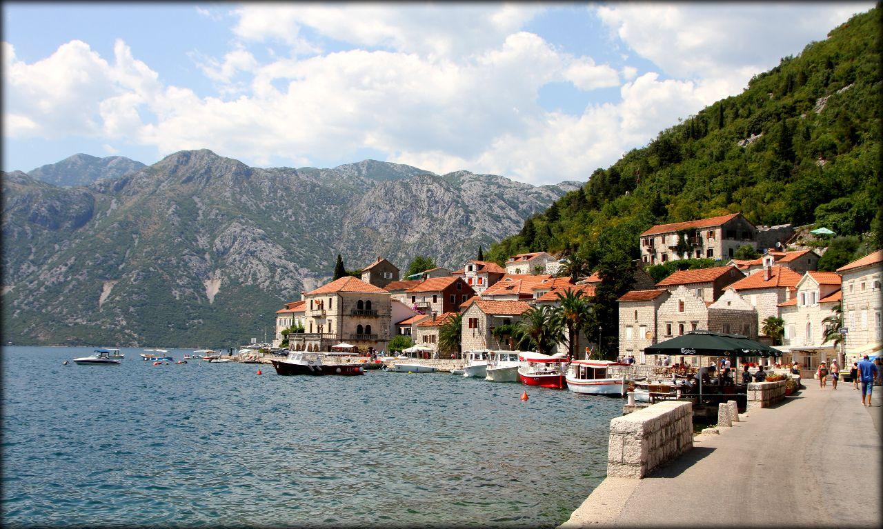 Завораживающая красота города Пераст Пераст, Черногория