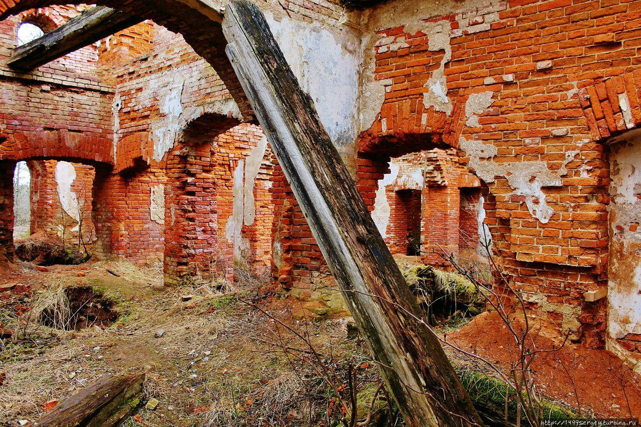 Усадьба баронов Врангелей или забытый ангел Торосово, Россия