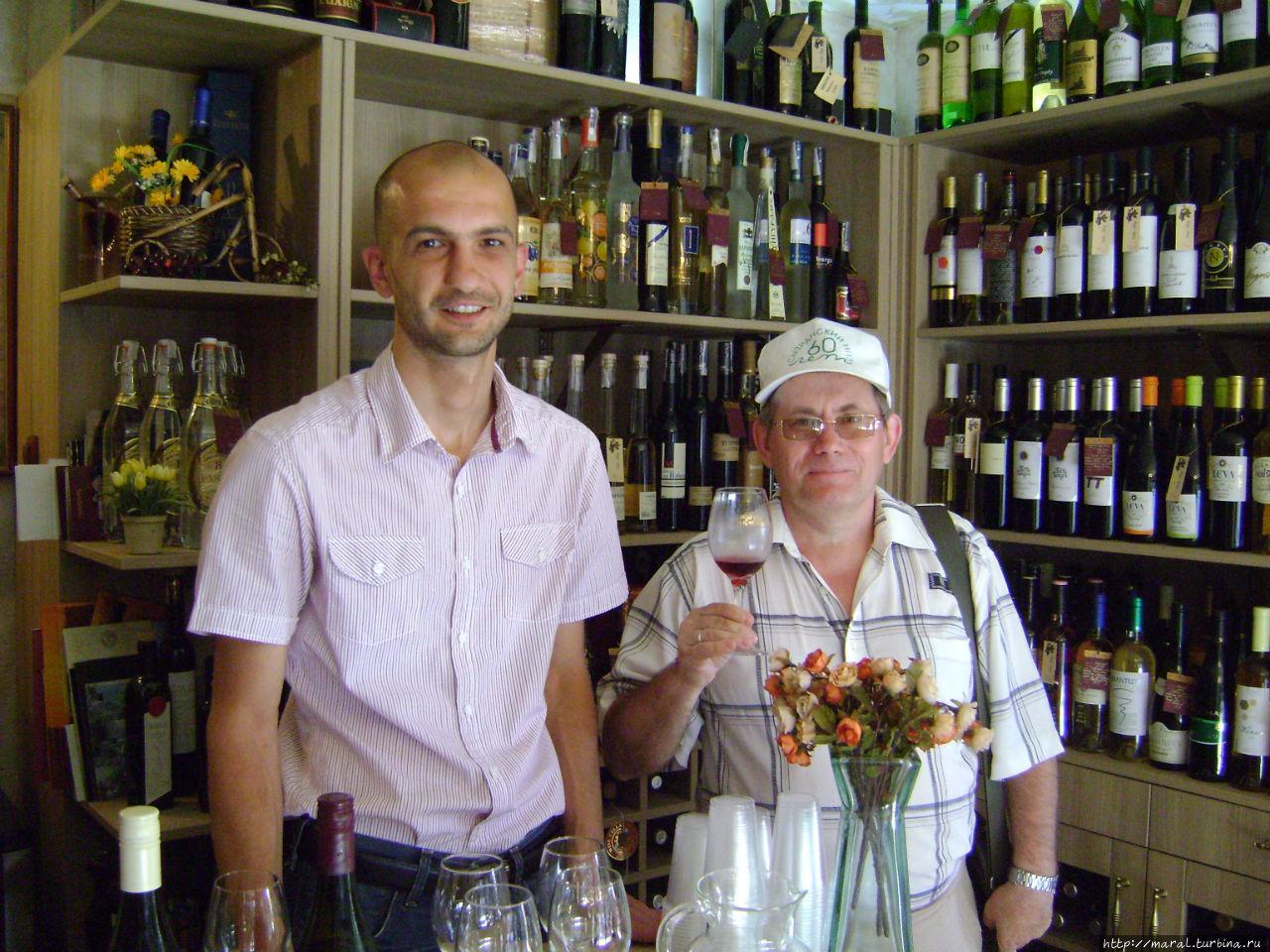 Дегустируем превосходное вино