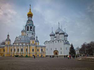 Вологда. Кремлевская площадь